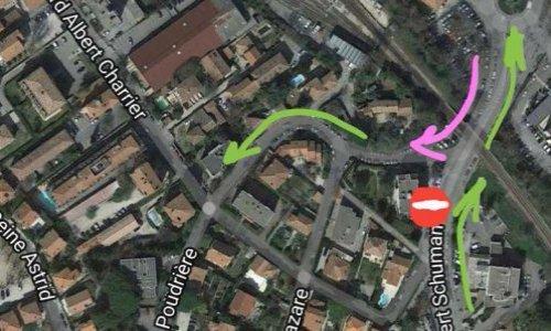 Pétition : Circulation difficile dans le centre ville d'Aix et le quartier des facultés : laissez-nous rentrer chez nous !