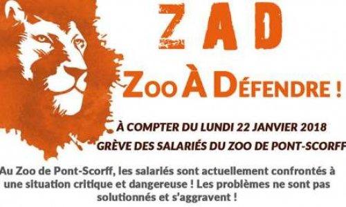 ZAD zoo de Pont-scorff à défendre