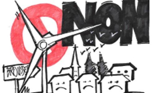Pétition : NON au premier parc industriel éolien en ligne médiane de la Montagne Noire