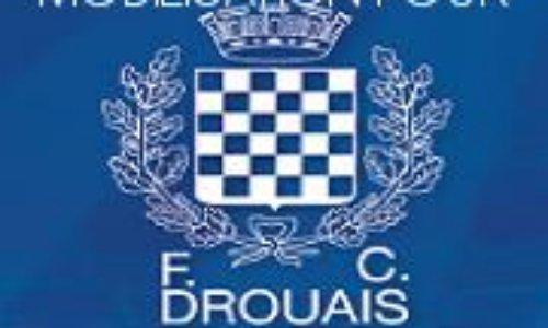 Pétition : Le FC DROUAIS ne doit pas disparaître !