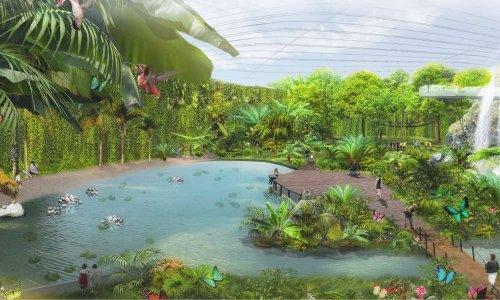 Non à Tropicalia (la plus grande serre tropicale du monde) sur la magnifique Côte d'Opale