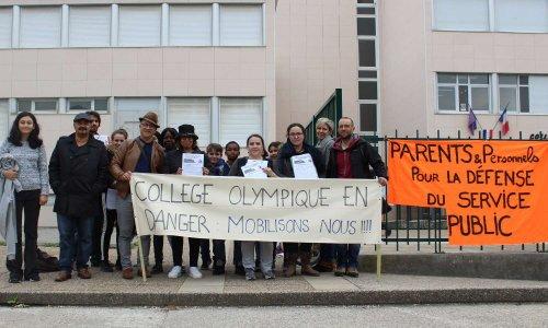 Pétition : Tous mobilisés pour sauvegarder le Collège Olympique