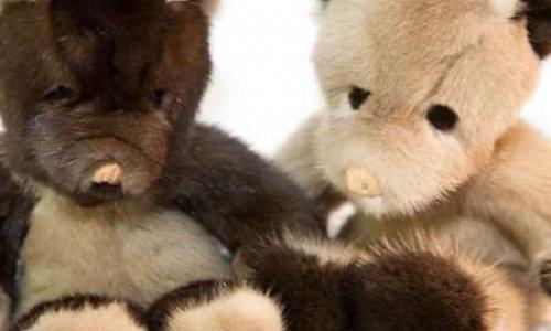 STOP aux peluches en fourrure animale