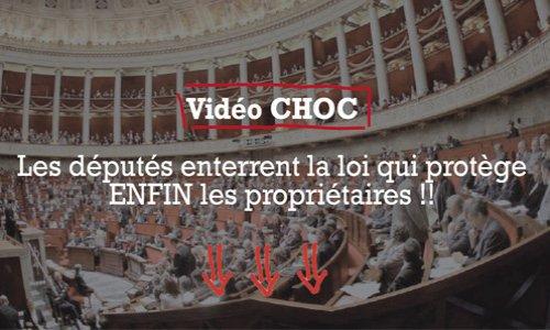 Pétition : Sauvez la loi qui protège ENFIN les propriétaires !