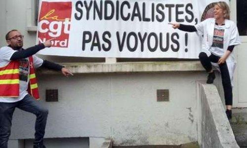 CHU de LILLE: la CGT attaquée pour avoir défendu les salariés