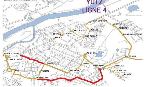 Pétition : Pour le rétablissement des arrêts supprimés de Yutz sur la Ligne 4 Citéline