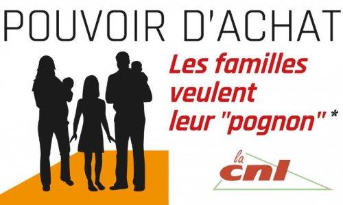 Pétition : Pouvoir d'achat : les familles veulent leur