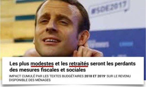Pétition : Macron, STOP au mensonge des baisses d'impôts !