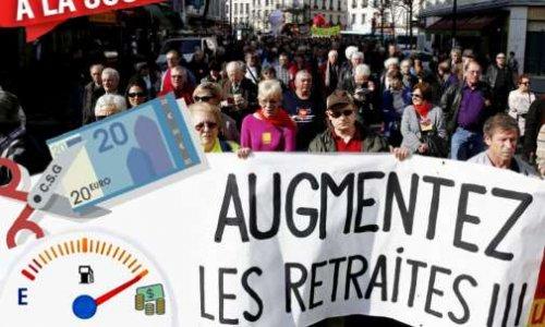 Pétition : LA FRONDE DES RETRAITÉS