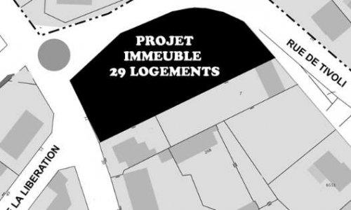 Pétition : Non à la construction d'un immeuble de 29 logements dans votre centre-ville, à St-Etienne !