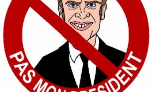 Pétition : Emmanuel Macron n'est pas mon président