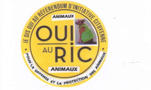 Défense et protection de tous les animaux - EXIGEONS l'inscription du REFERENDUM D'INITIATIVE CITOYENNE dans la Constitution française