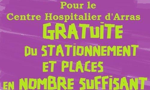 Pétition : Pétition contre le parking à péage à l'hôpital d'Arras