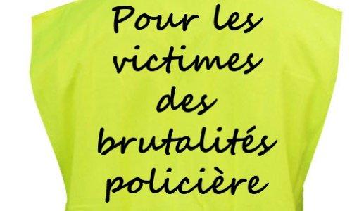 Soutien aux victimes des brutalités policières