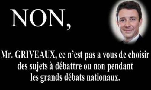 Non M. GRIVEAUX !