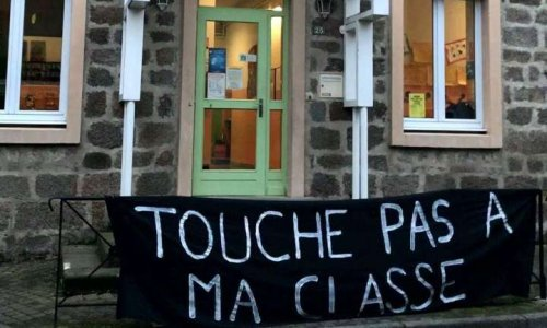Non à la fermeture de classe