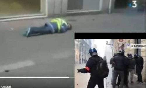 Pour la diffusion sur toutes les chaines télévisées de l'agression d'Olivier Beziade