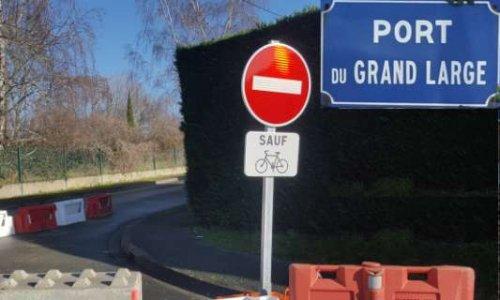 Annulation du sens unique 'Port du Grand Large'