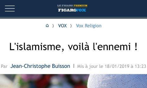 Pour que Le Figaro présente ses excuses aux français et à la communauté musulmane pour incitation à la haine, et pour la justice médiatique.