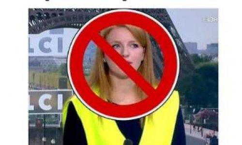 """Retrait du nom """"gilets jaunes"""" sur la liste de Mme Levavasseur"""