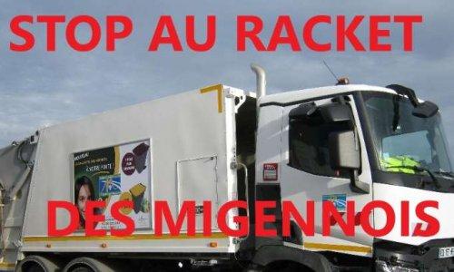 Migennois : ordures ménagères STOP au racket