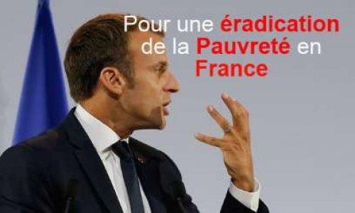 Pétition : Pour une éradication de la pauvreté en France
