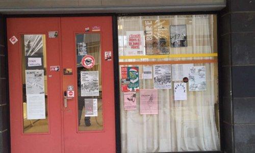 Contre la politisation du foyer étudiant (salle A015) du CLSH Nancy