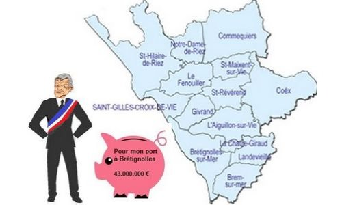 La CSGPI: bientôt une nouvelle taxe au canton de Saint-Gilles Croix de Vie ? Non, merci!
