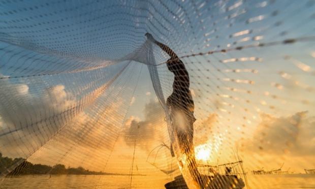 Stop aux filets de pêche