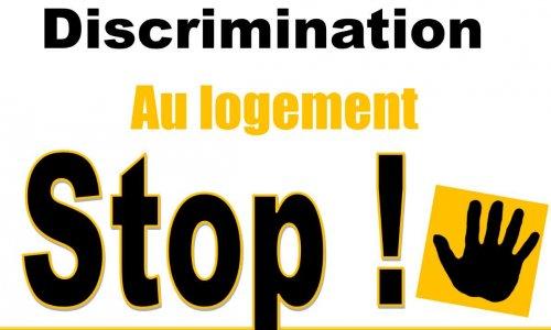 Discrimination au logement, STOP!
