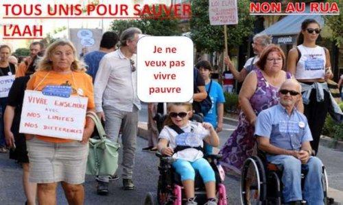 Pétition : Pour qu'handicap et pauvreté ne soient pas la double peine : NON, l'AAH ne doit pas être incluse dans le RUA !