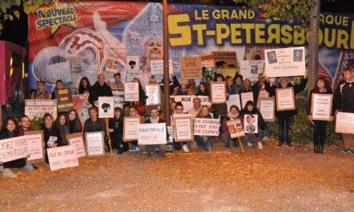 Non aux cirques avec animaux à Bourges