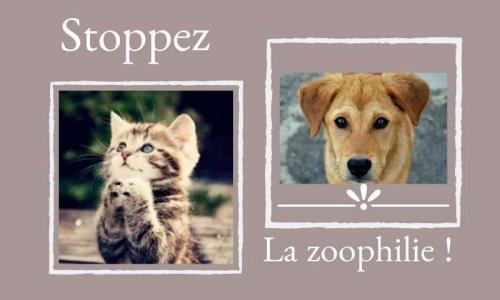 Stoppez la zoophilie !