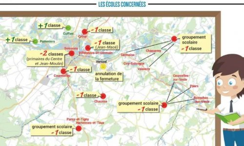 Pétition : Non à la fermeture de classe et non au suppression de poste à l'école Jean Moulin de Soissons