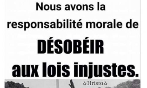 Destitution de Monsieur  le  Président de la République Emmanuel Macron