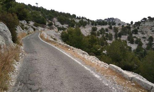 Sécurisation et entretien de la  route du Mont Faron à Toulon