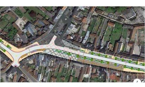 Révision du projet d'aménagement du centre bourg de Crécy en Ponthieu