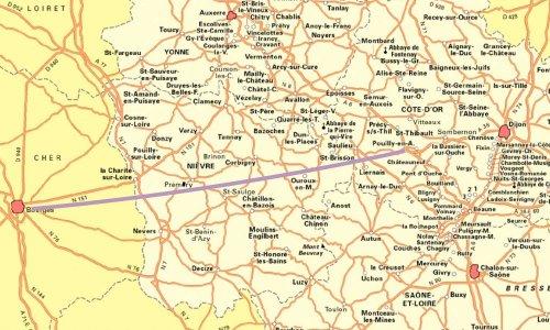 Désenclaver Nièvre et Morvan par une autoroute est-ouest mettant Dijon à 1h10 de Nevers