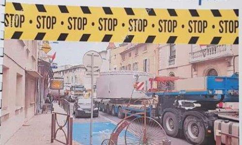Pétition : Pour interdire les convois exceptionnels entre 7h et 21h dans Coursan