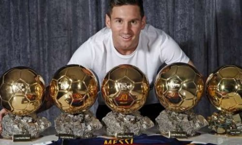 Pétition : Restitution des 5 Ballon d'Or de la fraude Lionel Messi