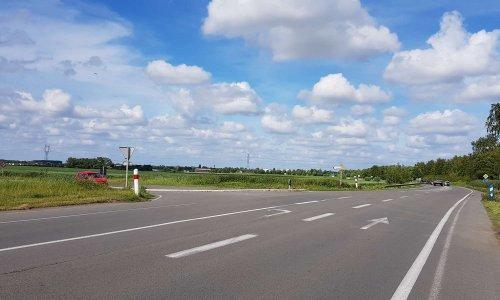 Aménagement d'un rond-point à l'intersection accidentogène des D925 et D62