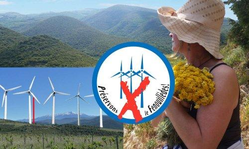 Pétition : Non aux projets de parcs industriels éoliens à Felluns et Trilla
