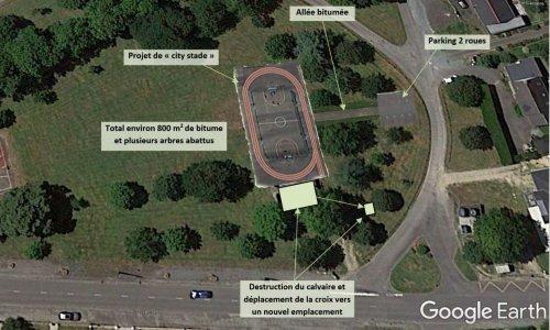 Pétition : Non à l'installation d'un « City Stade » sur le champ de foire de la Chapelle Launay