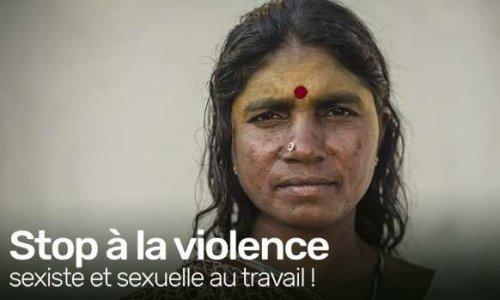 Pétition : Stop à la violence sexiste et sexuelle au travail !