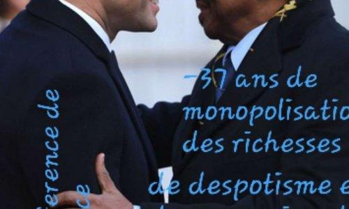 Le peuple de france dit non au soutien de Mr Macron au régime Paul Biya