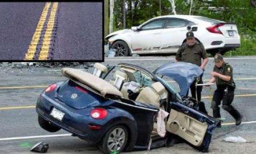 Mise en place de bandes rugueuses aux endroits dangereux sur la route 155 entre Shawinigan et La Tuque