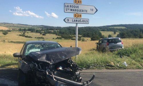 Sécurisation carrefour Veyreau/Saint André/Lanuejols
