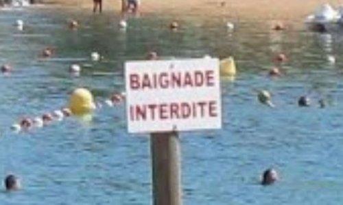 Baignade interdite au lac de St Cyr 86