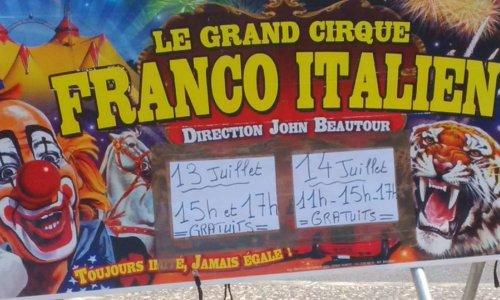 Contre les cirques avec animaux en Dordogne