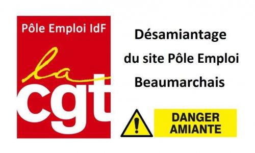 Désamiantage du site Pôle emploi Paris 11
